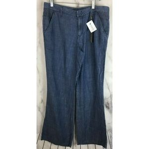 Anthropologie Pants Womens 31 NWT Blue